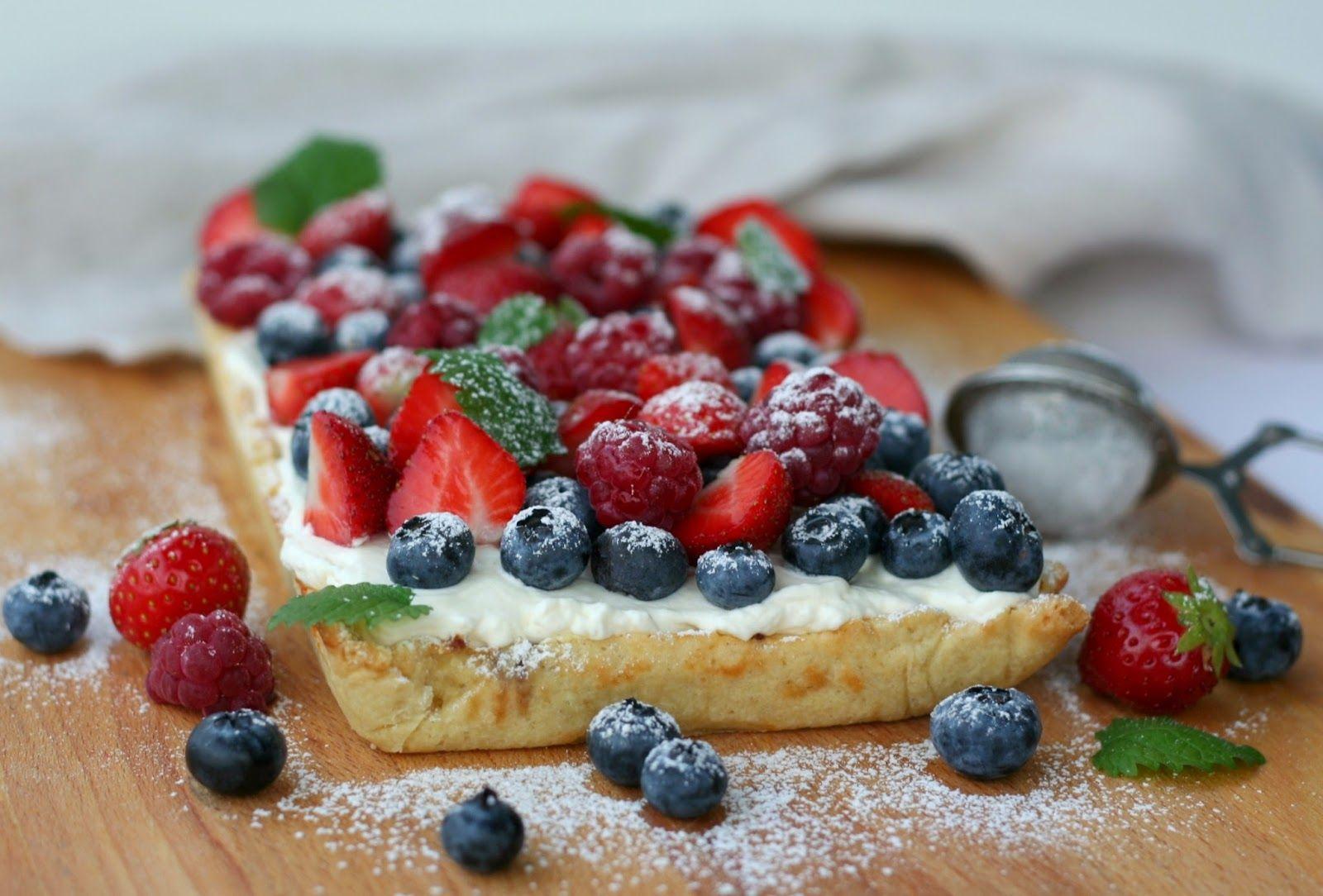 Baking of...: Marja-vaniljapiiras