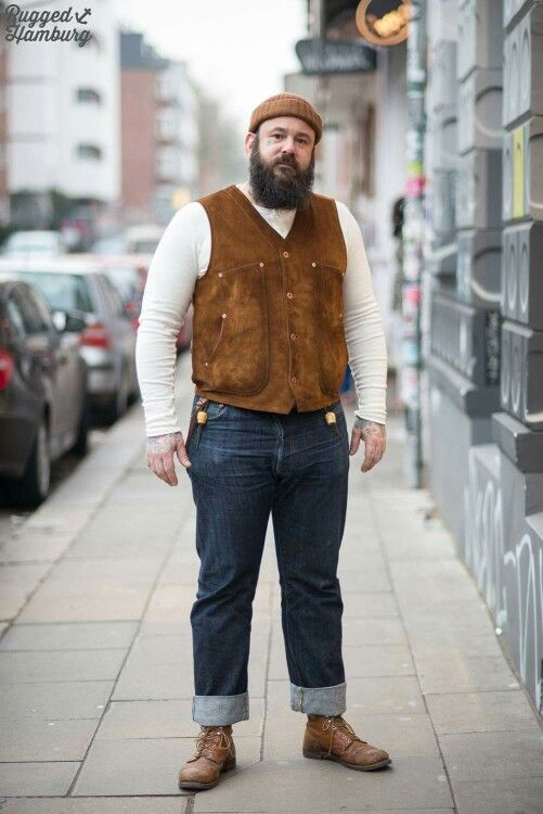 Bearded Rugged Guy | Rugged, Preppy and Gentlemen Style ...