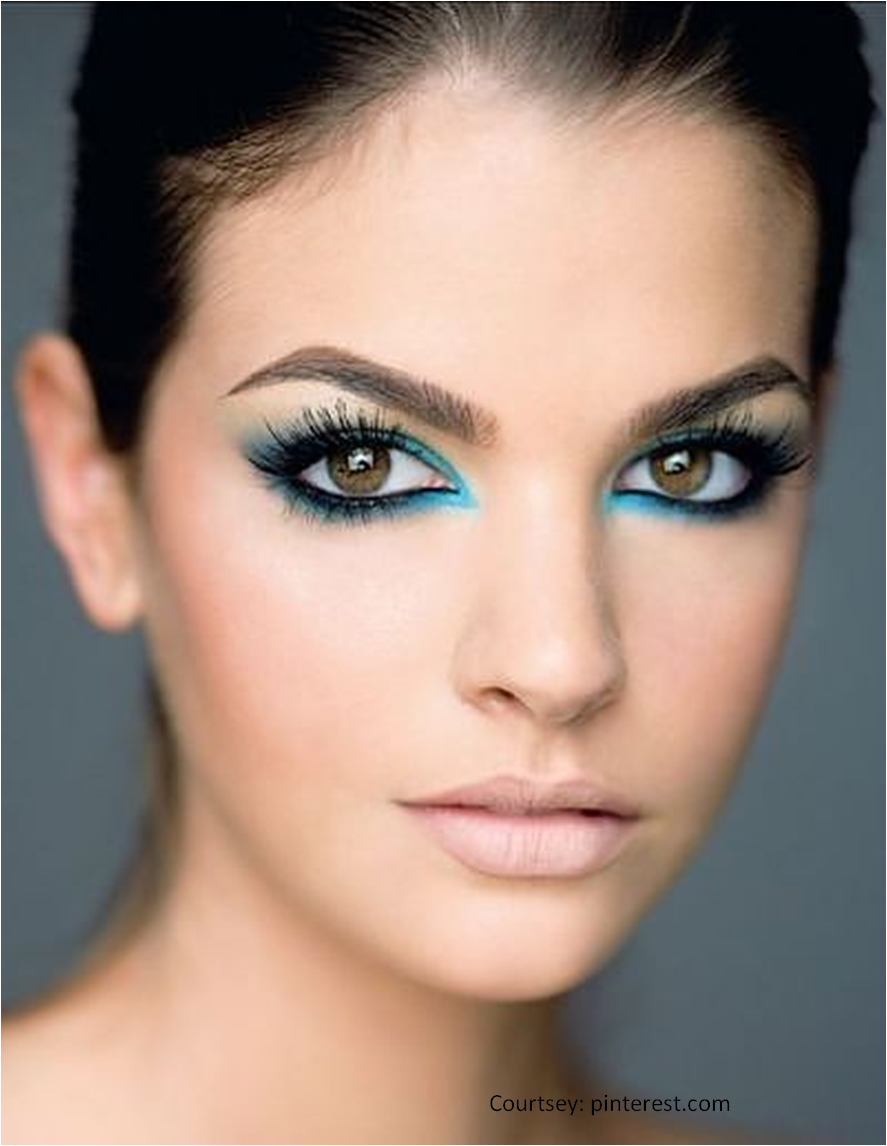 Trend beauty the turquoise eye fotos