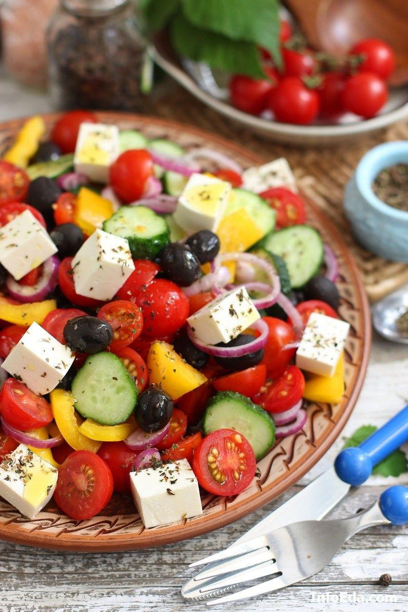 салаты из свежих помидоров рецепты