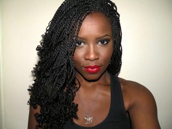 African American Hair Braiding Styles Senegalese Twist