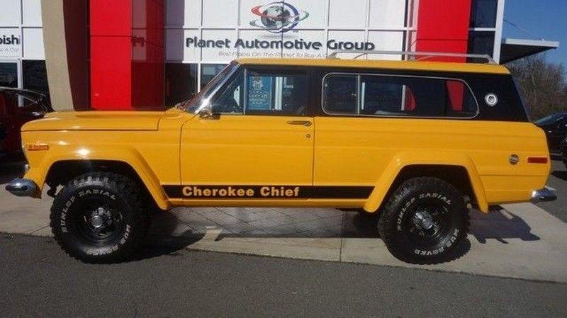 Jeep Cherokee Chief >> 1977 Jeep Cherokee Chief V8 Jeep Cherokee Cherokee Chief