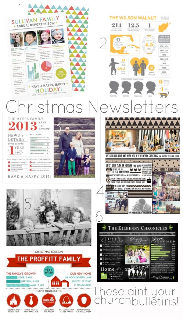 christmas newsletters Christmas newsletter, Christmas