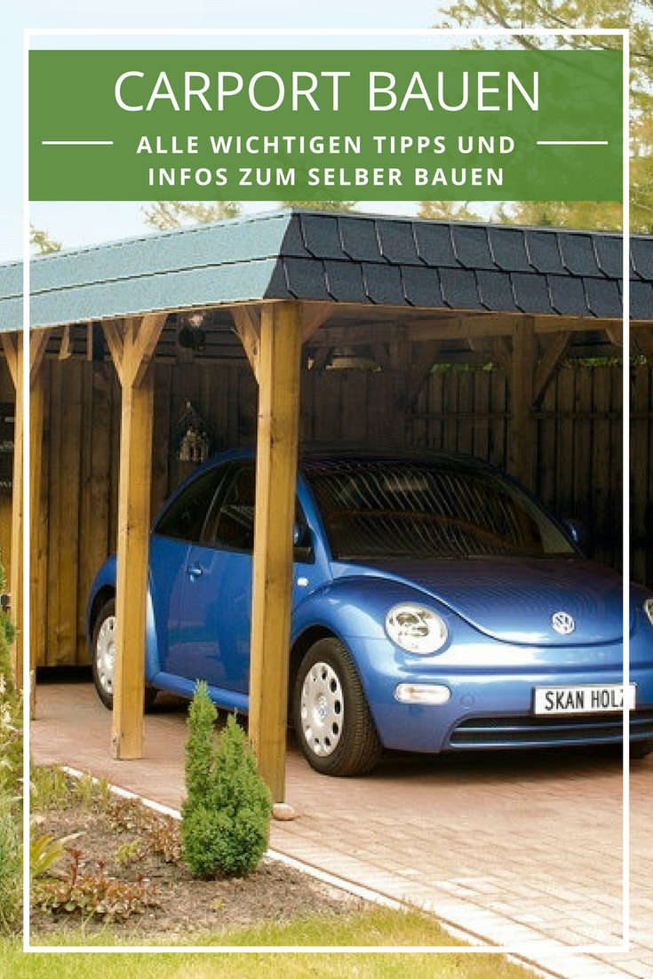 gallery of carport selber bauen anleitung bauplan co pinterest