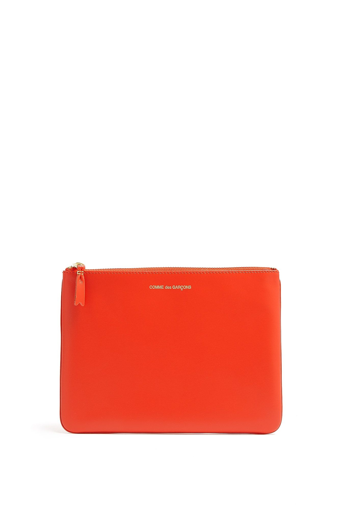 Orange Classic Zip Pouch Comme Des Garçons Largest Supplier iqcQlsV