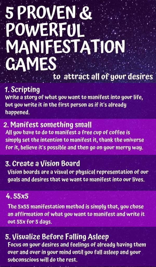 Manifestation Games to Attract all your Desires < watch video for free