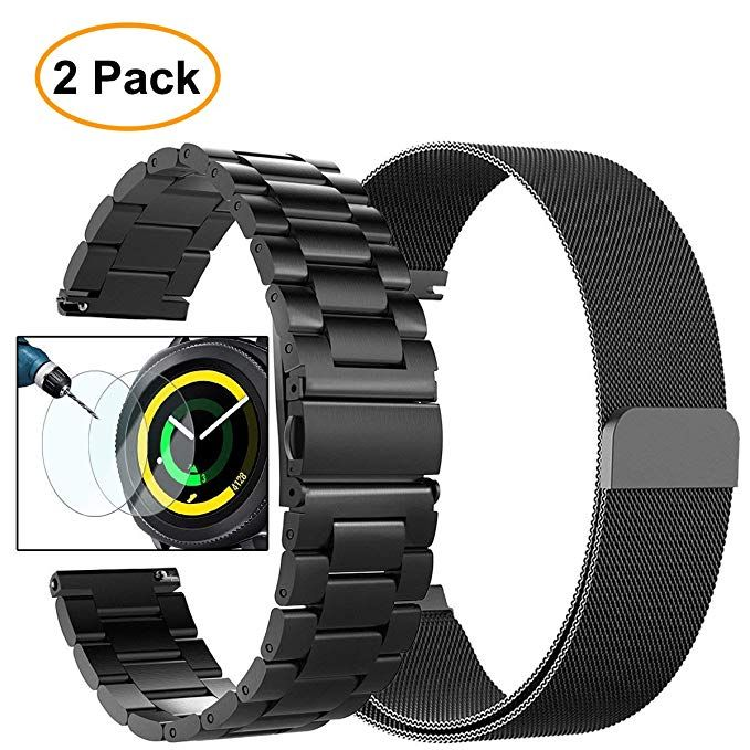 Valkit Gear Sport Band, Stainless Steel Watch Bands