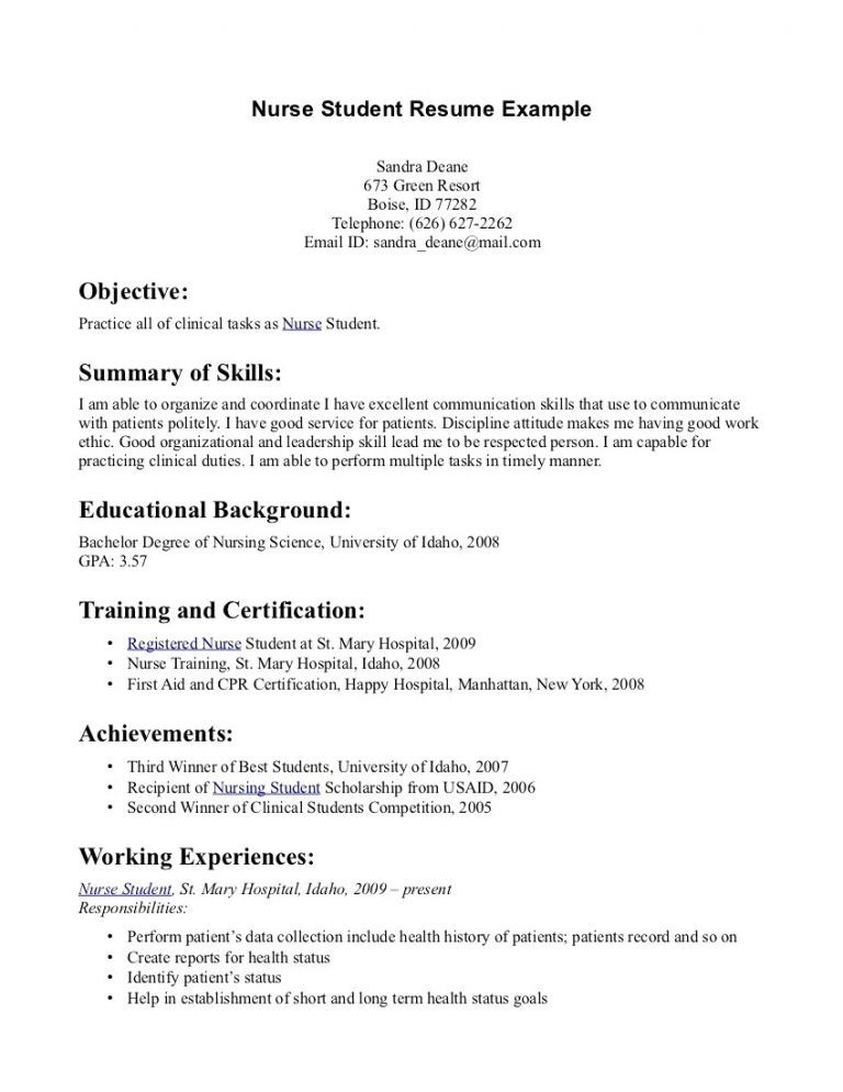 70 Best Of Image Of Brief About Me For Resume Examples Student