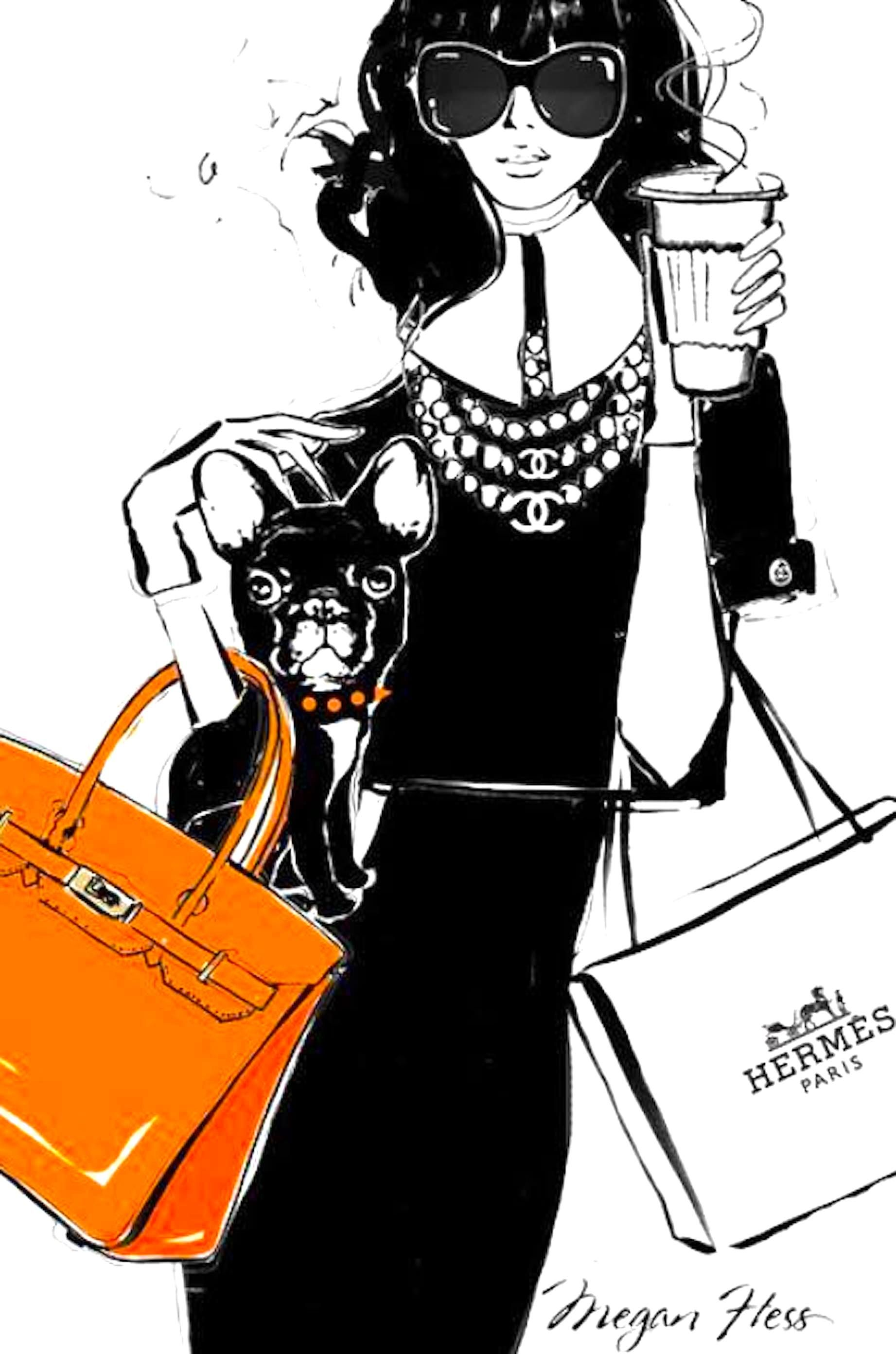 Megan Hess Megan hess, Megan hess illustration, Fashion
