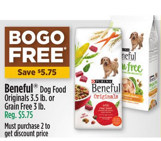 7daa0476d6f FREE 3lb for Beneful Grain Free Dry Dog Food at the Dollar General from  11/09-11/11
