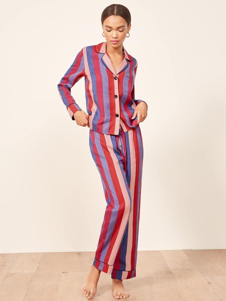 Reformation Pajama Set fall Pinterest Pajamas Holiday