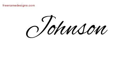 4dd835681 Cursive Name Tattoo Designs Johnson Free Graphic - Free Name Designs ...
