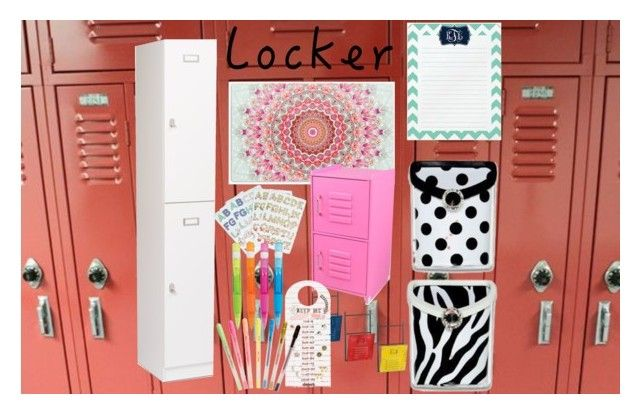 """Locker"" by carliruiz ❤ liked on Polyvore featuring interior, interiors, interior design, home, home decor, interior decorating, Prepac, KidKraft, Dot & Bo and ban.do"