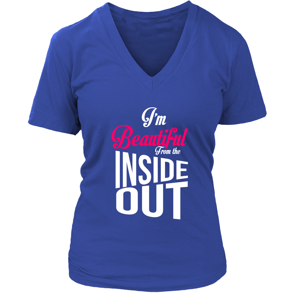Let this be your inspiration womens vneck ium beautiful from
