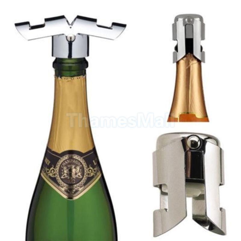 Stainless Steel Champagne Wine Bottle Sparkling Sealer Stopper