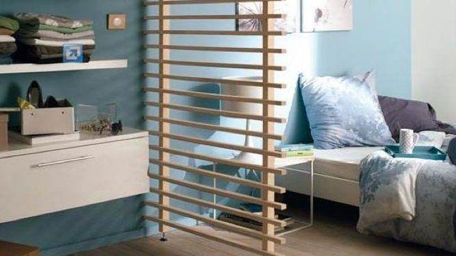 cloison amovible bois chambre am nagement studio deco. Black Bedroom Furniture Sets. Home Design Ideas