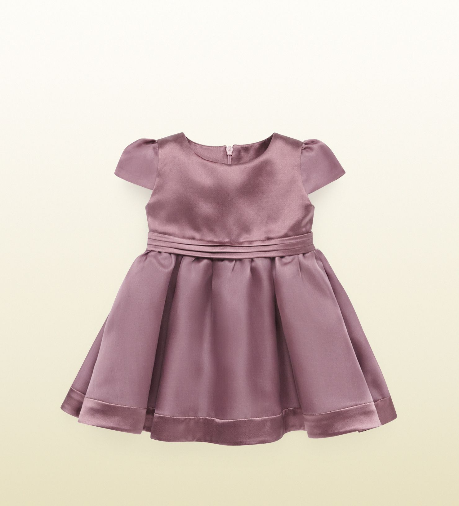 Gucci Kids AW14 silk organza and satin dress baby girl