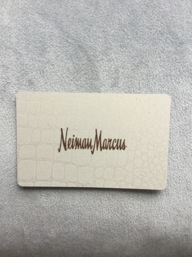 Coupons Giftcards Neiman Marcus 100 Gift Card Brand New Pin Not Scratched Coupons Giftcards New Pins Gift Card Gift Coupons