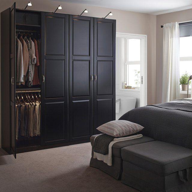 Grande armoire noire ikea