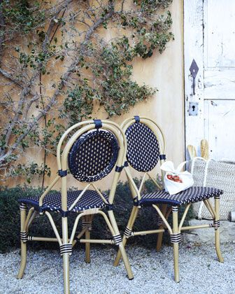 Outdoor Bistro Chair by PALECEK IMPORTS at Horchow. | Bleu + Green ...