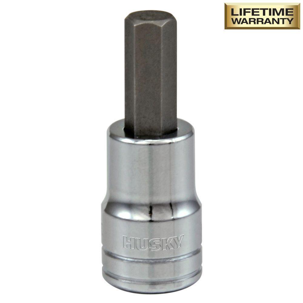 Husky 3 8 In Drive 5 16 In Hex Bit Socket H3dhbs516 Socket Wrench Set Dewalt Drill Cleaning Wipes
