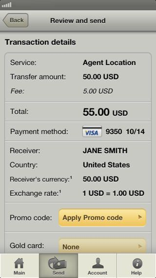 Western Union Money Transfer by Western Union Holdings