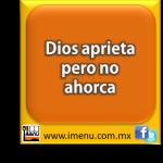 #Dichos y #Refranes Dios aprieta pero no ahorca