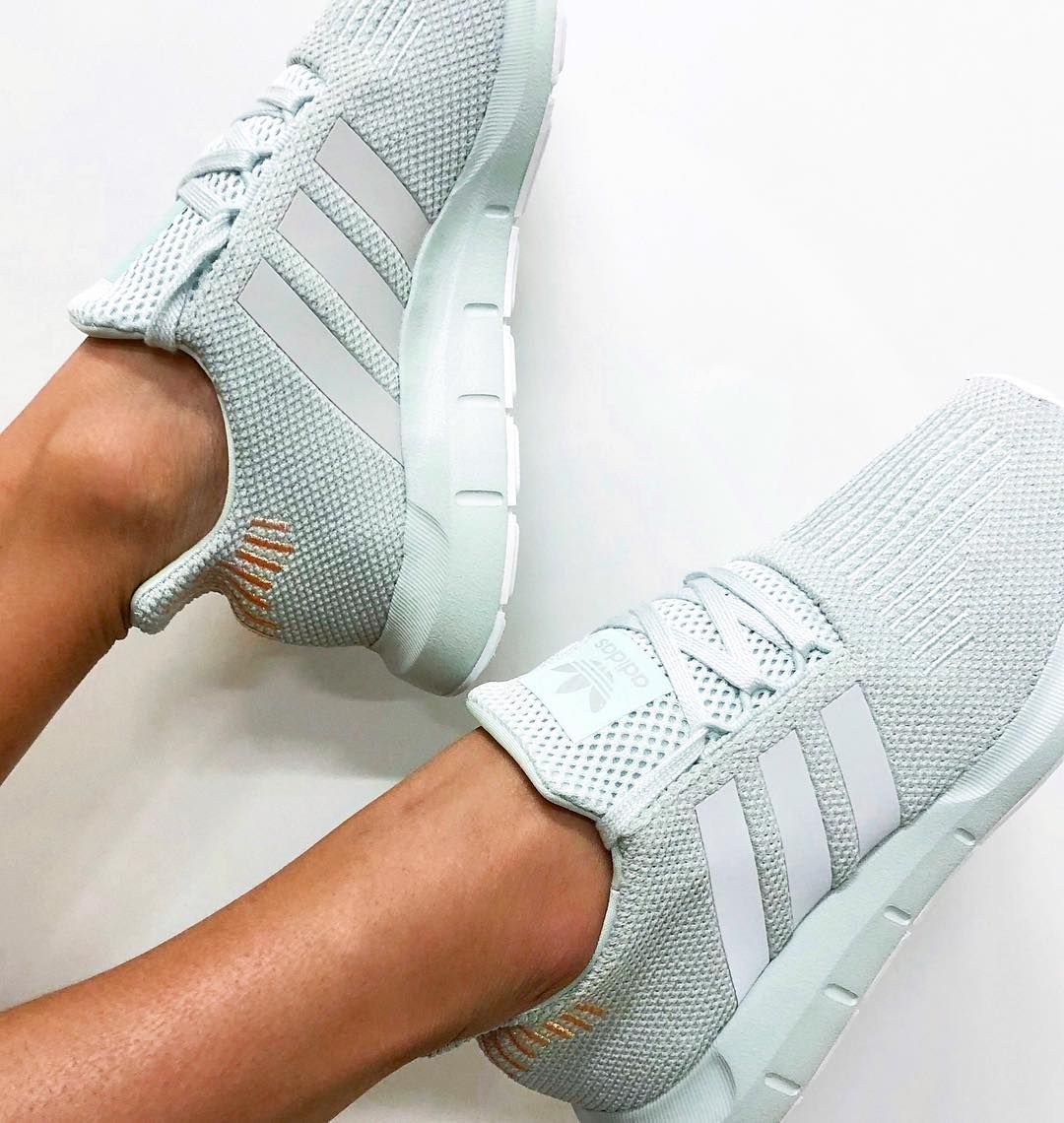 buy online 6c6d0 05f67 The new adidas Originals Swift Run in Vapour Green✨ available from  stylerunner.com. Cool mint green adidas sneakers for 2018.