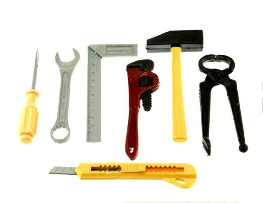 CONSTRUCTION Birthday Party Supplies TOOL HARDWARE FAVOR TOY SET