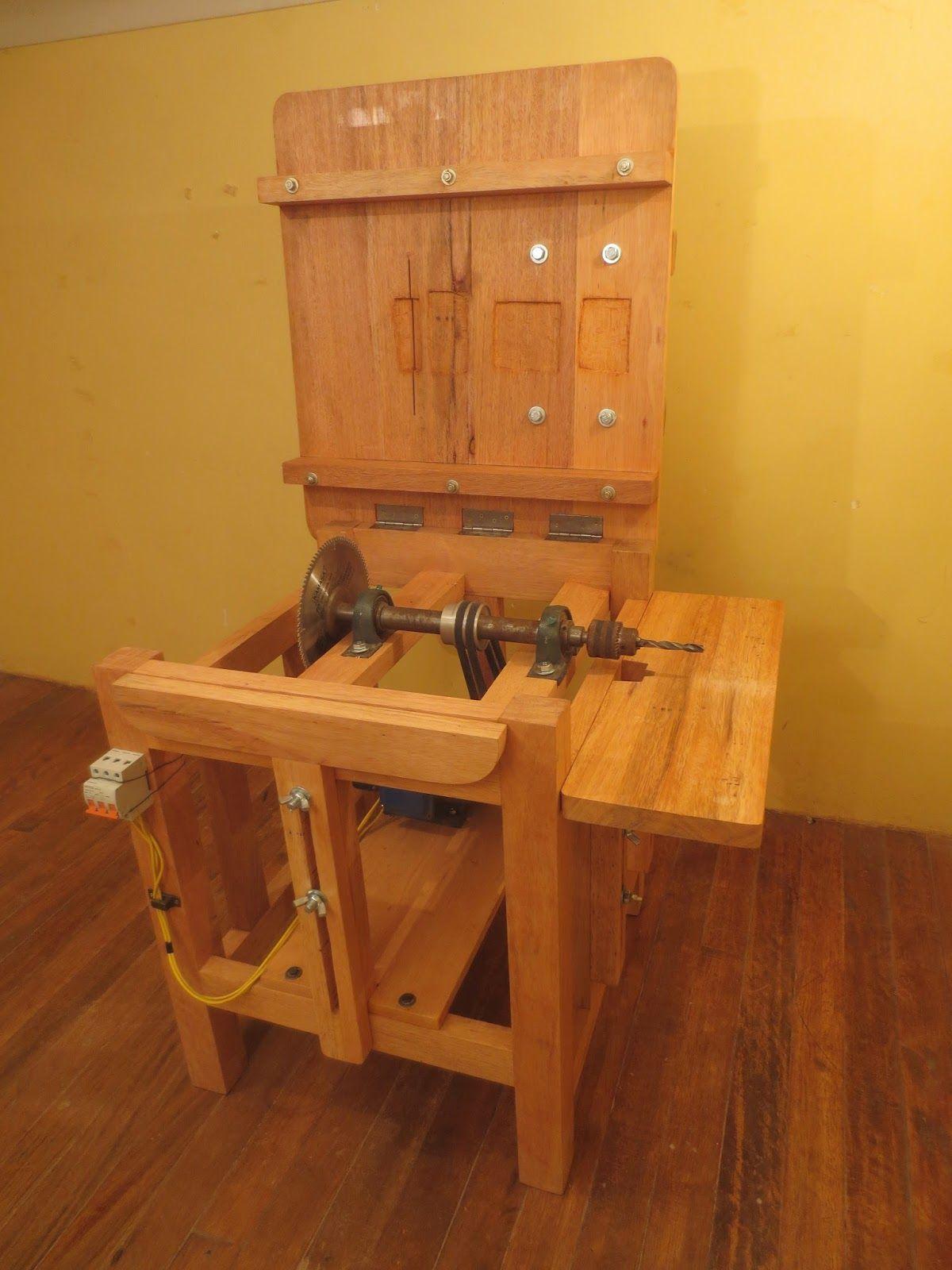Decoraciones manualidades en madera como hacer una sierra circular de madera maquinas y - Madera para hacer muebles ...