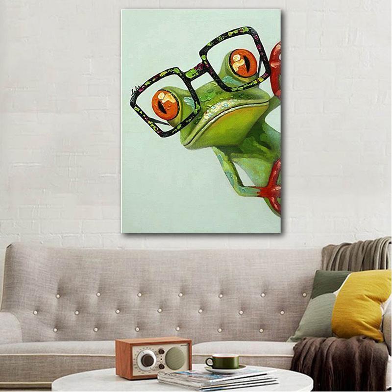 c2e1b97d65 Frog - Diamond Painting Kit   Diamond painting   Painting, Diamond ...