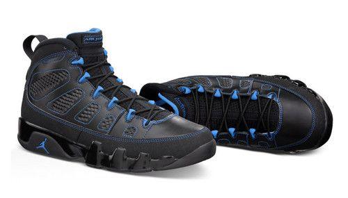 Jordan IX 9 Photo Blue Black Bottom Size 11 DS Johnny Kilroy RARE Limited  3a51da423f