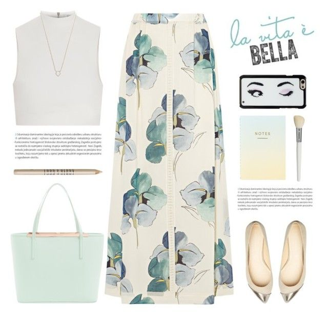 """""""La vida es bella."""" by yexyka ❤ liked on Polyvore featuring Ted Baker, Tory Burch, Elizabeth and James, Oris, Kate Spade, Lord & Berry, Cath Kidston and Monique Péan"""