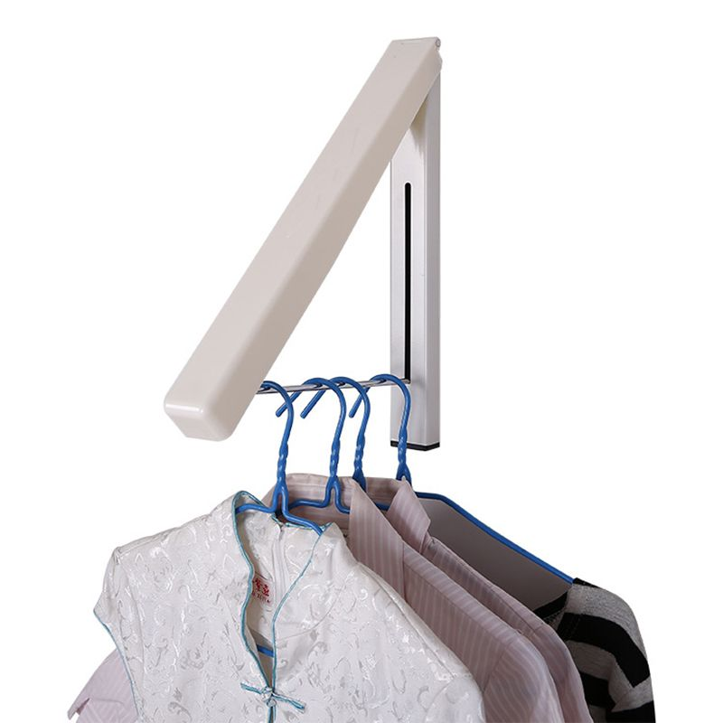 Wall Hangers For Clothes Quickdone Folding Wall Hanger Mount Retractable Waterproof Clothes