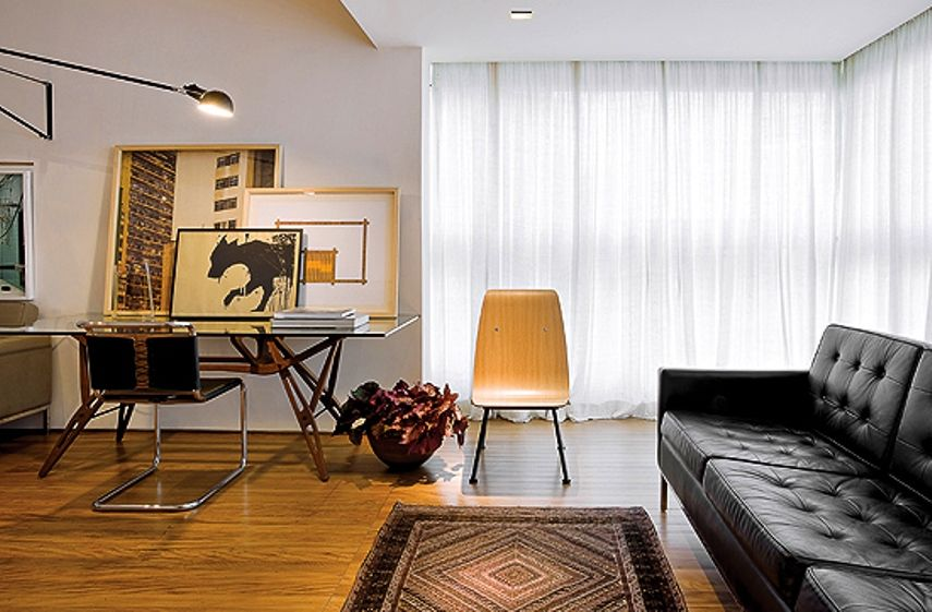 Apartamento do arquiteto Pedro Lázaro em Belo Horizonte