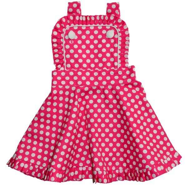 Audrey Dress Pink Polka Rock Your Baby Www