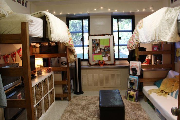 Dorm Room Videos In 2020 With Images Uga Dorm College Dorm