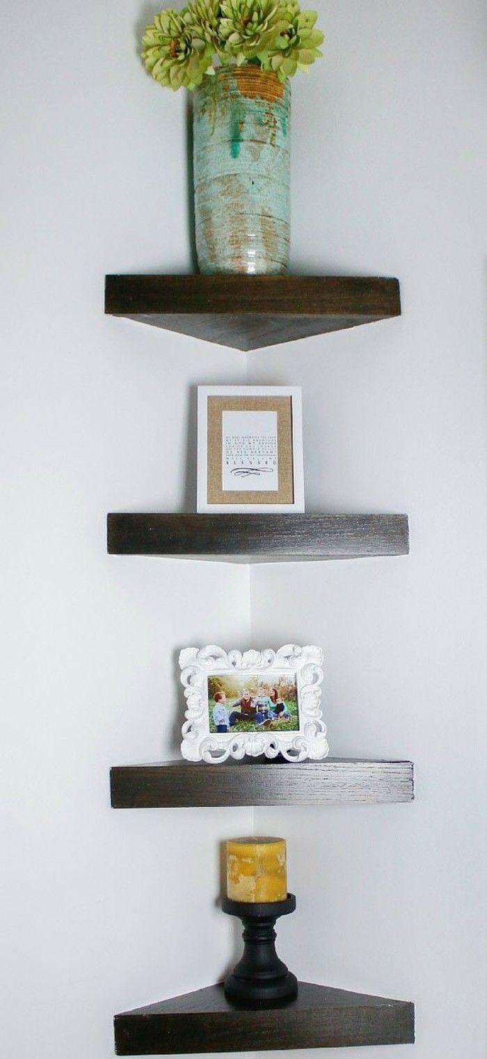 Eckregal Ikea Selber Bauen Holz Wohnzimmer Kreative Wandgestaltung Deko Ideen Diy Ideen21
