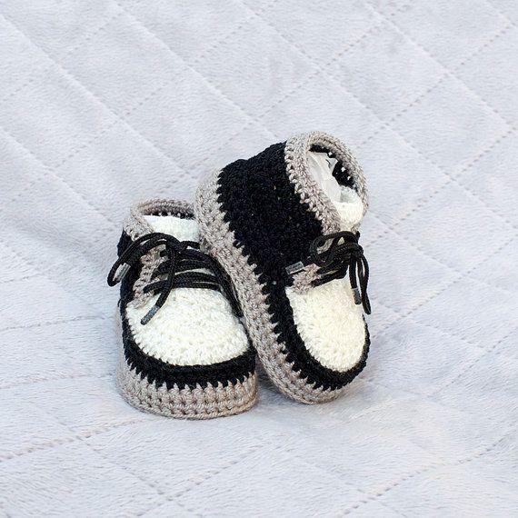 Del Recién Botines Nacido – Name Crochet QrdCsth