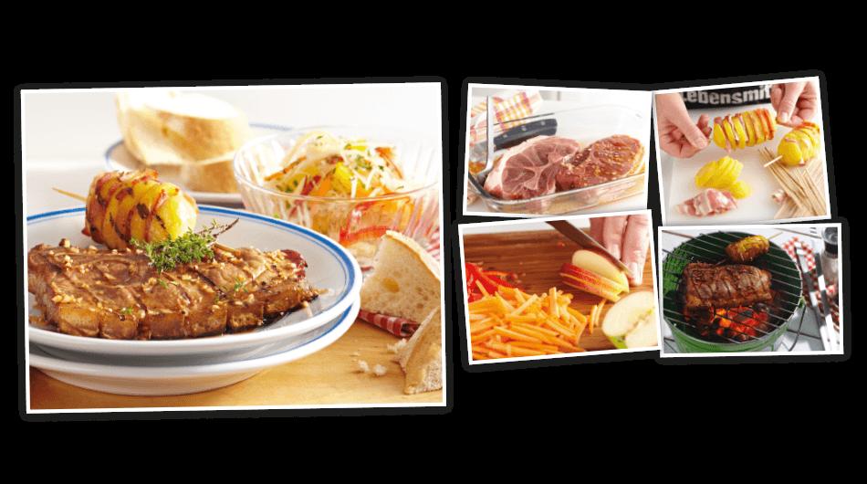Holzfällersteak mit Krautsalat | EDEKA