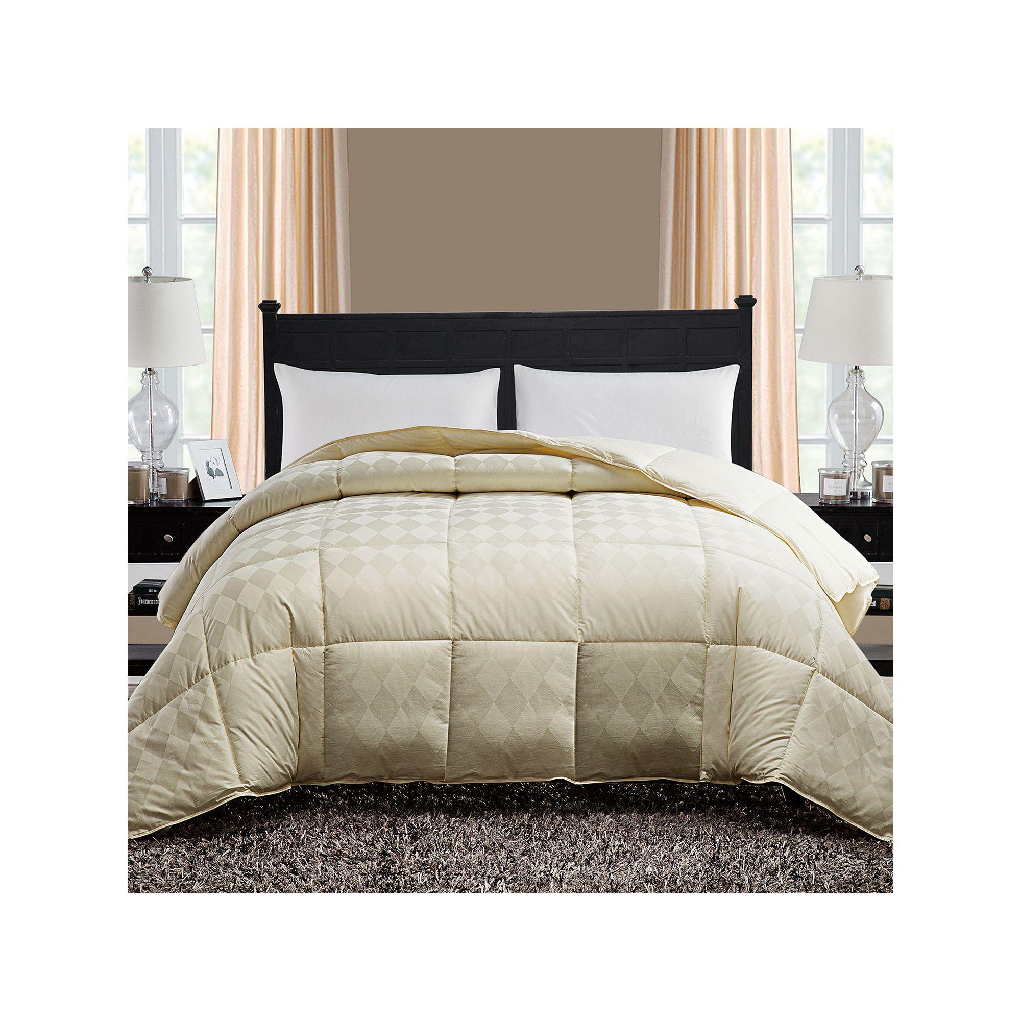 vcny diamond down alternative comforter red comforter
