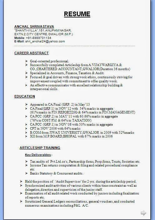 curriculum vitae online word Sample Template Example ofExcellent ...