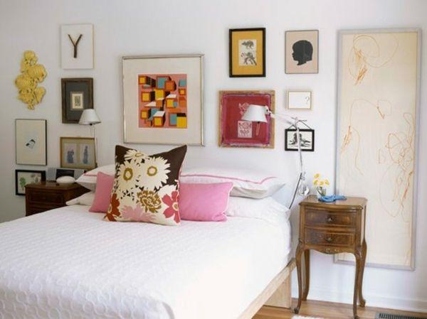 Kreative Wandgestaltung Schlafzimmer Kinderbilder