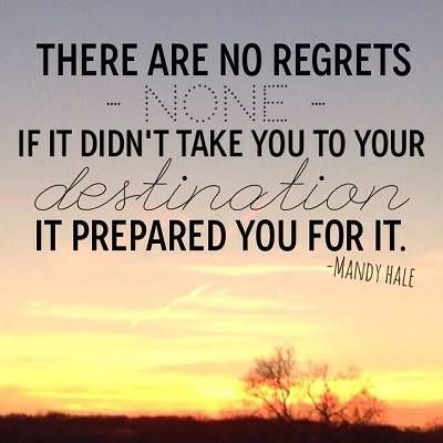 Mandy Hale Quotes Simple Mandy Hale Quote On Regrets ❤ Feminine Fusion  Picture Quotes.