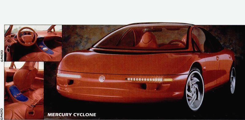 Mercury Cyclone 1990
