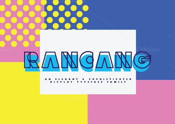 Rancang Typeface by ihsankl on Creative Market