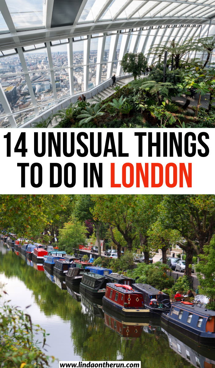 14 Unusual Things To Do In London  London England  Europe  London Packing List  Things to see snd visit in London #london #england #travel #traveltips