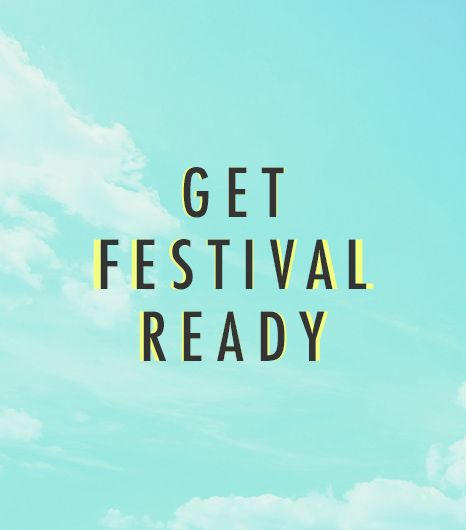 GUESS Has Your Music Festival Packing List Covered ...