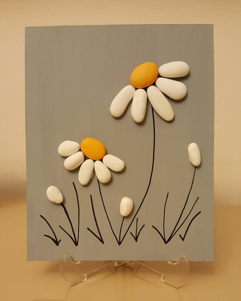 55 Beautiful Pebble Art Ideas Pebble Art Rock Crafts Crafts