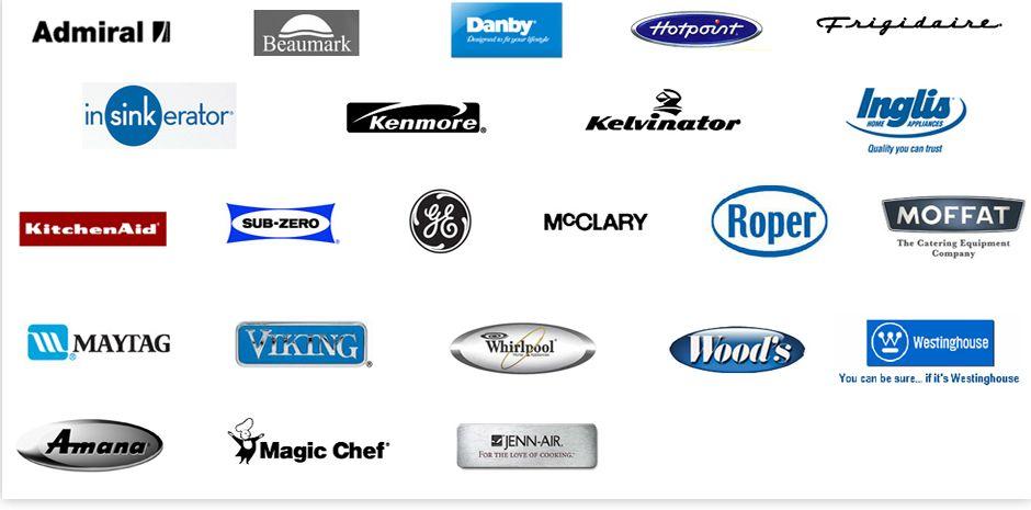 Appliance Brands Dishwasher Repair Appliance Repair Repair